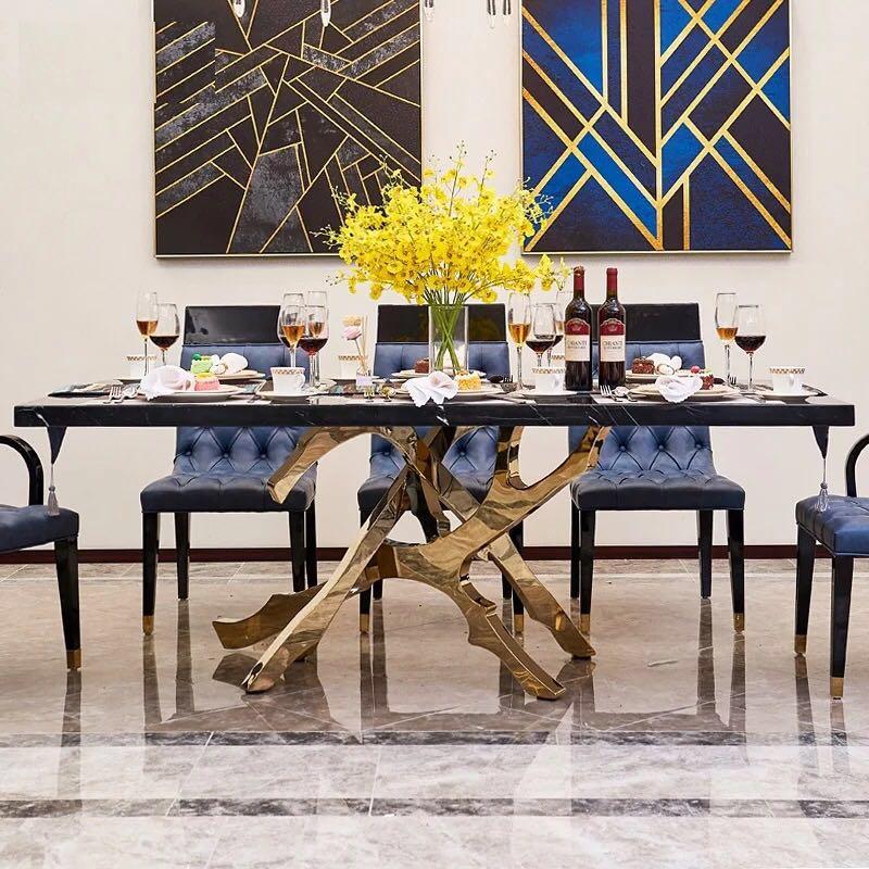 200x100x75 Cm Moderne Desgin Marmor Esstisch Möbel W0204 Kaufen Sie Immer Gut