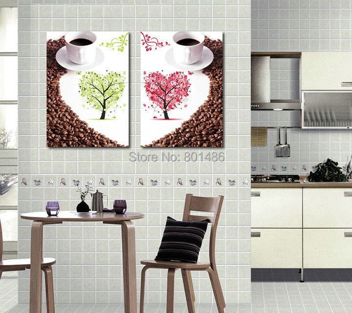 Coffee tree pictures promotion shop for promotional coffee for Kitchen decoration piece