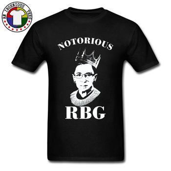 Notorious RBG Legislation And Feminist Ideology Black T Shirts Character Features Design New Tshirts 100% Cotton Sweater Clothes image