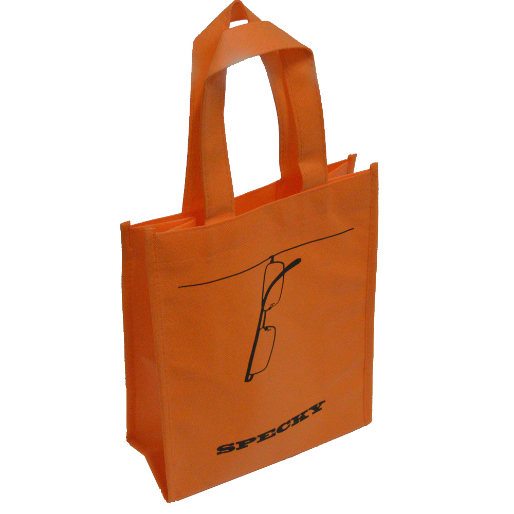 500pcs Small Non woven Fabric Shopping Bag With Handle Recycle Material Custom Party Bags For Wedding