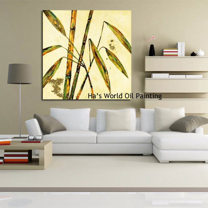 Free Shipping Hand Painted Modern Home Decor Wall Art