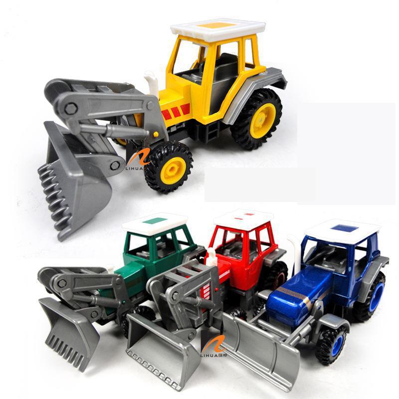 BOHS Alloy Pullback Toy Engineering Farm Agricultural Vehicles 4 Color Brinquedos Juguetes Model ...