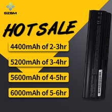5200MAH 6CELLS NEW Laptop Batteries for HP Pavilion G4 G6 G7 CQ42 CQ32 G42 CQ43 G32 DV6 DM4 430  593553-001 MU06 batteria akku