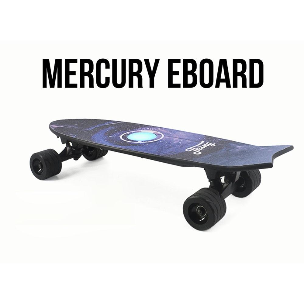 Quatre Roues Électrique Planche À Roulettes Avec Sans Fil À Distance Contrôleur E Planche À Roulettes Scooter Longboard Skate Board pour Adultes Enfants - 2