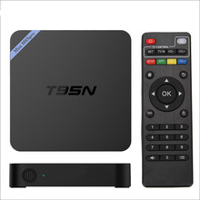 New Arrival T95N Mini M8S Pro Android 5.1 TV Box S905 Quad Core 2G 8G Bluetooth Smart Set Top Box Support Kodi16.0 Media Player