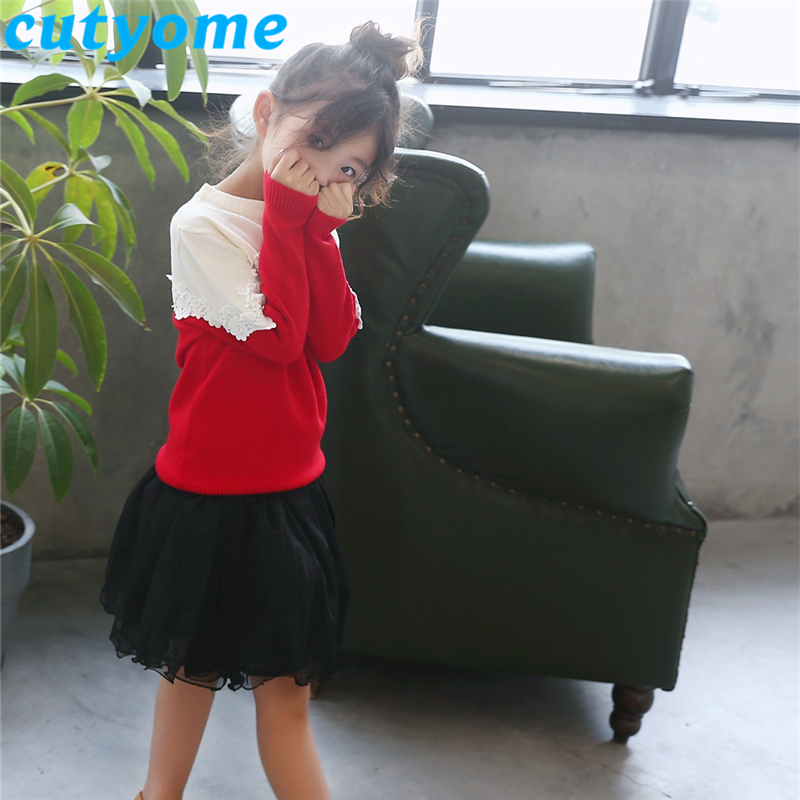 teenage girls patchwork sweater05