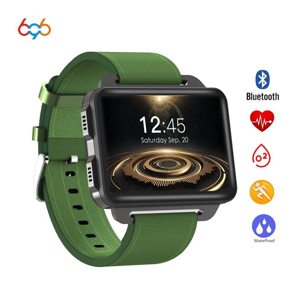 696 DM99 Bluetooth SmartWatch Wifi Gps 3g Smart Phone Orologi Supporto Della Scheda Sim di sostegno Dello Schermo HD ebraico polacco