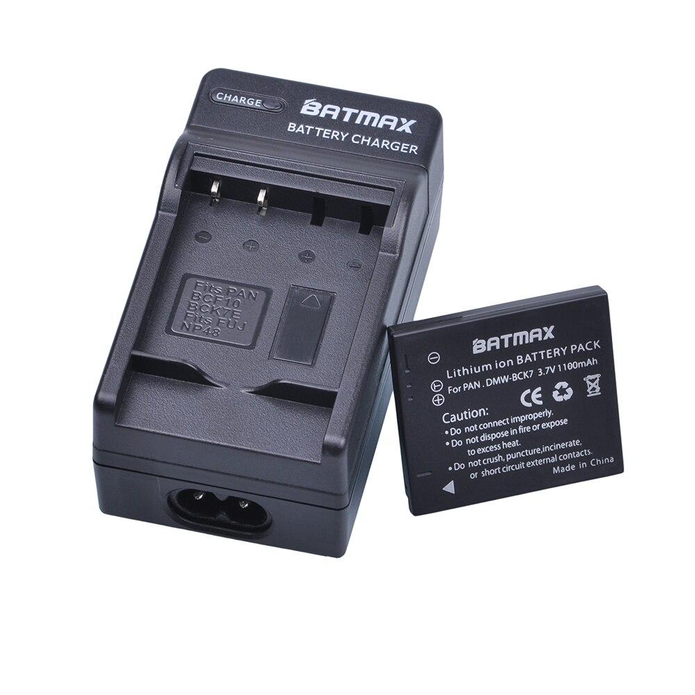 DMW-BCK7 BCK7 NCA-YN101G Battery+Charger For Panasonic Lumix DMC-FP7 DMC-FS16 DMC-FS18 DMC-FS22 DMC-FS28 FS35 DMC-FS37 FS40,FT30