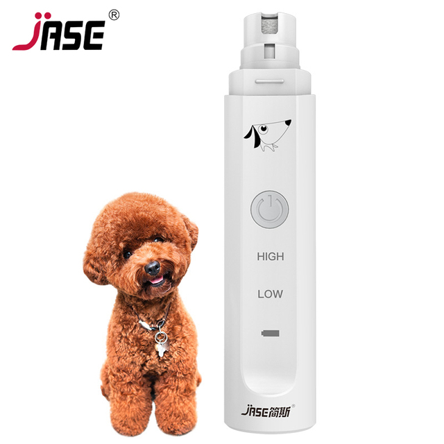 JASE 2 Levels Electric Dog Nail Grinder Professional Pet Claw Nail ...