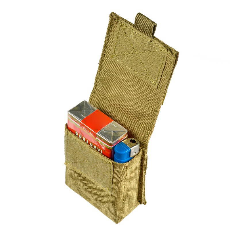 Image 3 - Outdoor Airsoft Combat Military Moole Pouch Tactical Single Pistol Magazine Pouch Flashlight Sheath Airsoft Hunting Camo Bags-in Pouches from Sports & Entertainment
