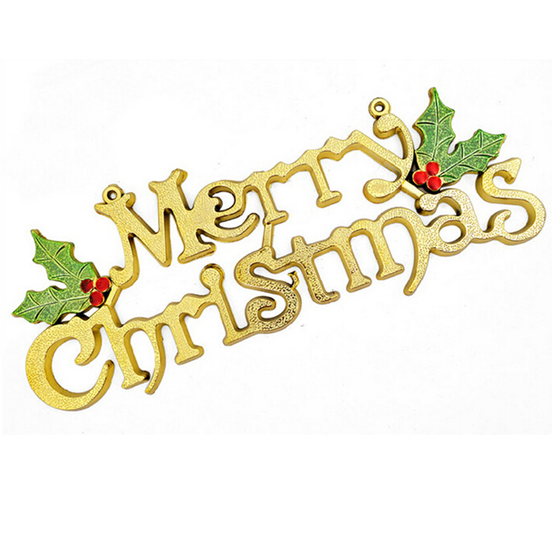 1pcs letter merry christmas chipboard chips tags home decorations diy christmas tree hanging ornament party in tree toppers from home garden on - Christmas Letter Decorations