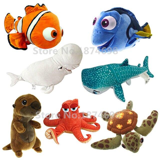 New finding dory mini plush nemo dory fish quirt crush for Fish stuffed animals