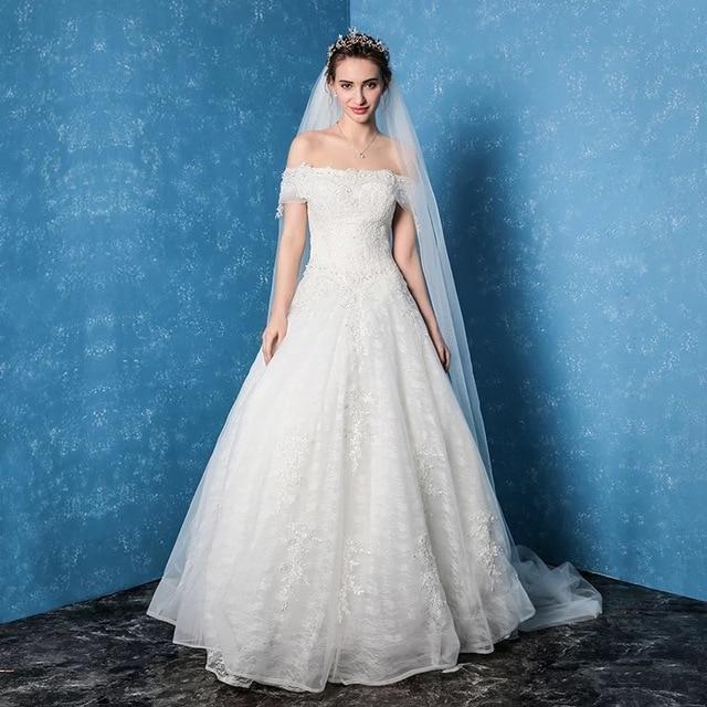 Amanda Novias 2017 Wedding Gowns Weding Bridal Bride Dresses Weddingdress Robe De Mariage Lace