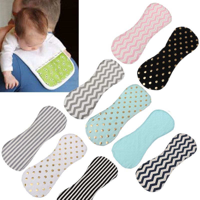 Cotton Bibs Baby Burp Cloths Newborns Soft And Absorbent Towels Burping Rags Baby Shower Gift Set