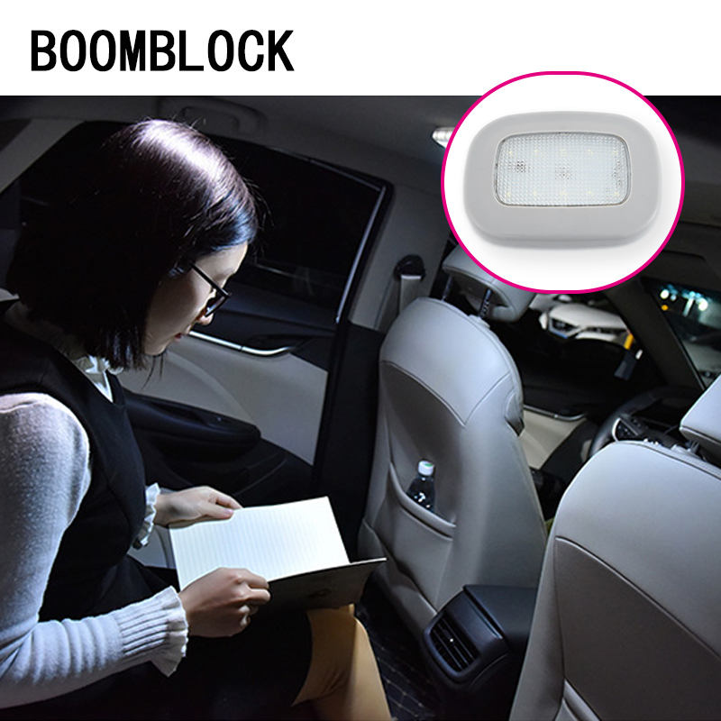 1x Car Reading Light Trunk Interior Lights For Toyota Corolla Seat Leon Jeep Renegade Skoda Fabia Rapid Renault Duster Audi A3 In Stickers From