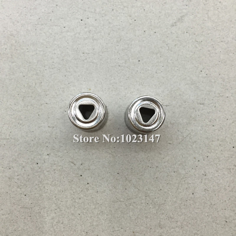 2 pcs/lot Triangle Magnetron Cap Magnetron Steel Antenna Cap for Galanz Haier Microwave Oven Parts