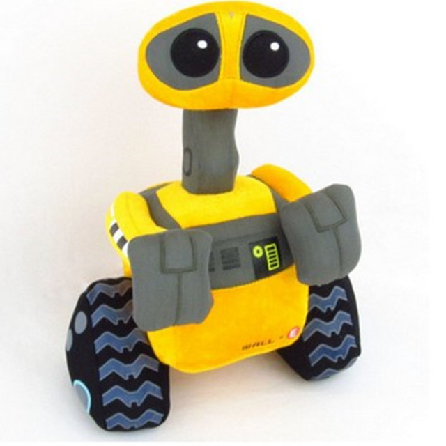 25 cm de felpa WALL-E artículos de decoración ROBOT juguetes para niños artículos de decoración regalo para niños