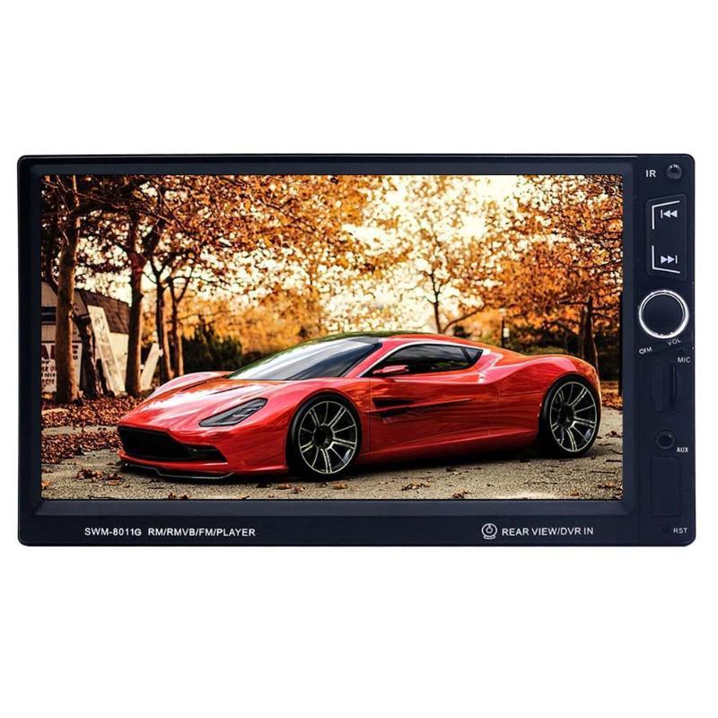 VODOOL 7inch High Definition 2 Din Bluetooth In-dash Car Auto MP5 Player GPS Navigator Steering Wheel Controller Audio Player junsun dvd 7 0 ce 7 0 inch 2 din in dash car dvd mp3 player
