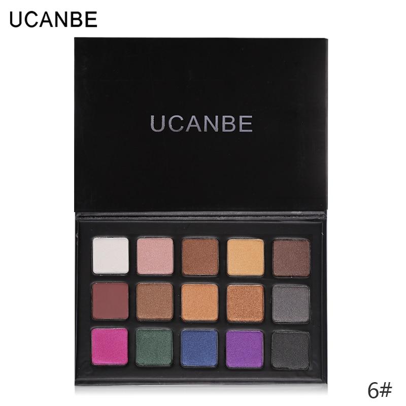 UCANBE Brand 18 Colors Eye Shadow Makeup Palette Matte