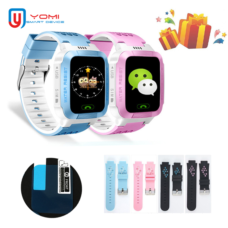 Kids Smart Watch with Protect films Andoid IOS GPRS