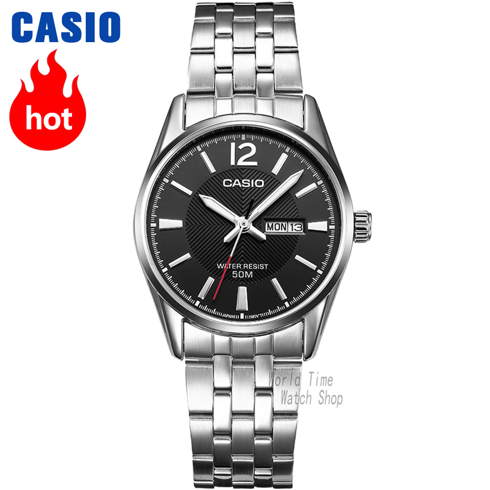 Casio montre Analogique Femmes de montres à quartz simple bracelet en acier lumineux étanche montre mécanique LTP-1335