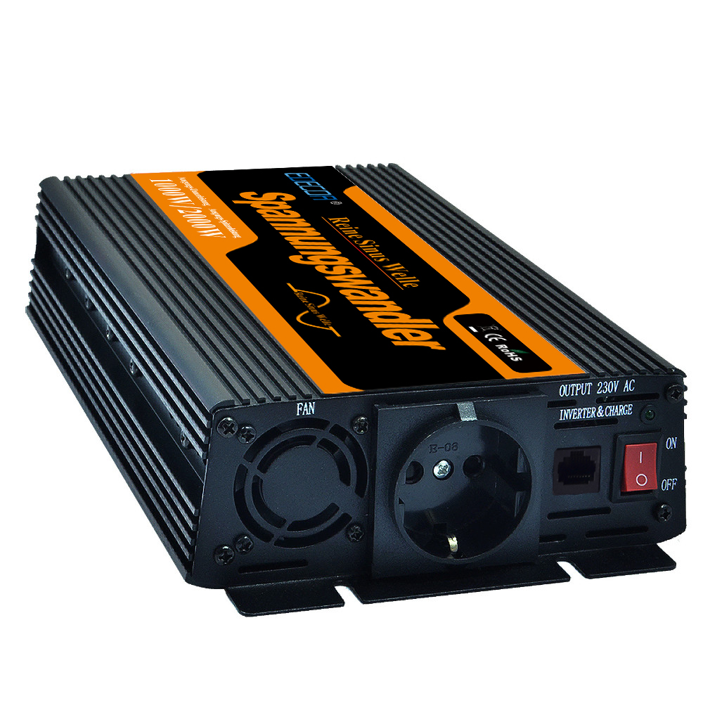 цена на High quality DC12V to AC220V 1000W Pure Sine Wave Power Inverter off grid Power Inverter For Solar and Wind Hybrid