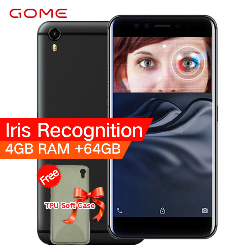GOME Original K1 4G LTE Smartphones 4G RAM 64G/128G ROM 5.2 polegada 1080 P MTK6757 2.3 GHz Octa Núcleo Android 6.0 Celular telefone