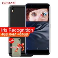 Original GOME K1 4G LTE Smartphone 4G RAM 64G 128G ROM 5 2 Inch 1080P MTK6757