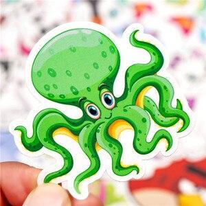 Image 4 - 32PCS Cartoon Animal Stickers Kids Toy Sticker For DIY Luggage Laptop Skateboard Motorcycle Bike Bedroom Sticker
