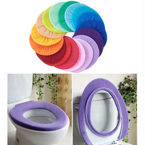 Cushion Seat-Cover Bathroom-Accessories Toilet Soft-Warmer Washable Closestool Mat Pad