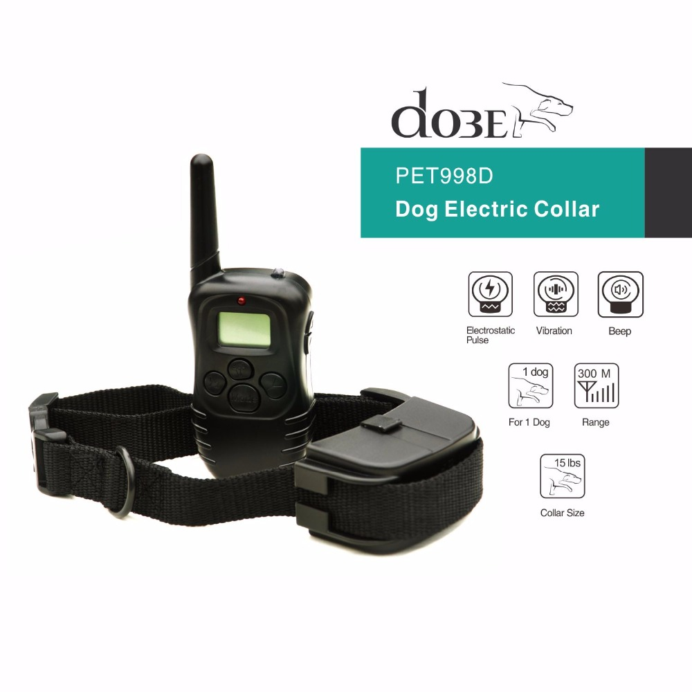 Dog Electronic Shock Remote Collar Pet Trainer Remote Vibration Dog Training Collar for 1 Dog Hot Selling In The World(China)