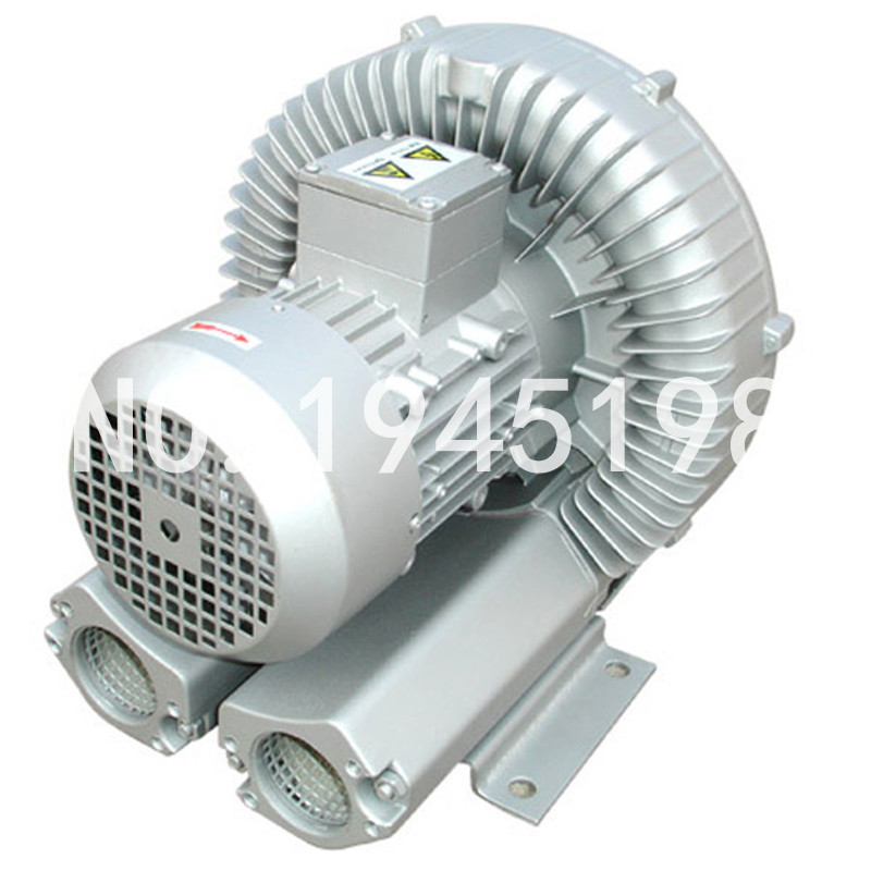 EXW price 2RB610 7AH26 3kw/3.45KW three phase single stage high pressure industrial exhaust fan air blower ring blower