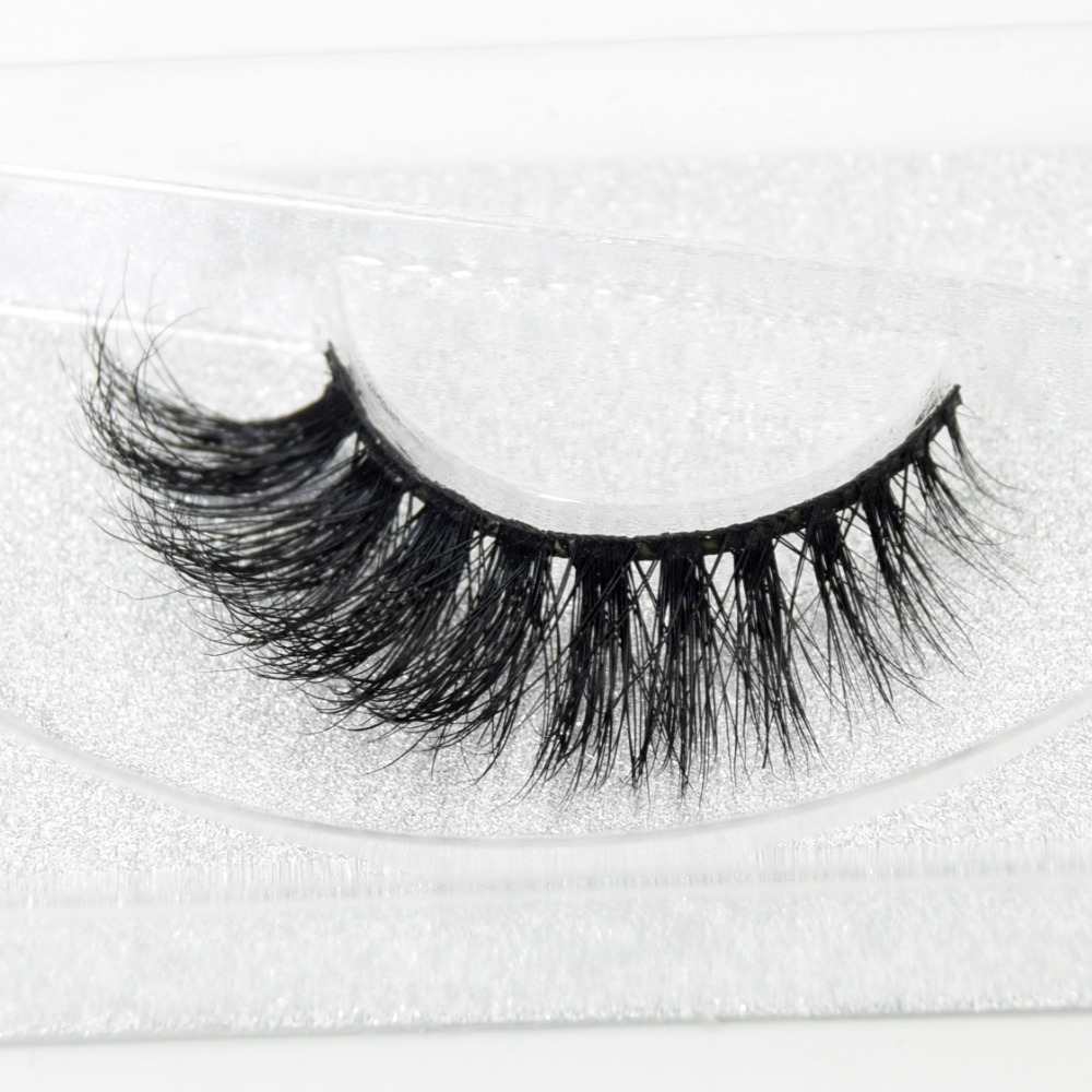 3D Real Mink False Eyelash Strip Mink Lashes Thick Fake False Eyelashes Makeup Beauty Handmade 100% Glitter Packing D101