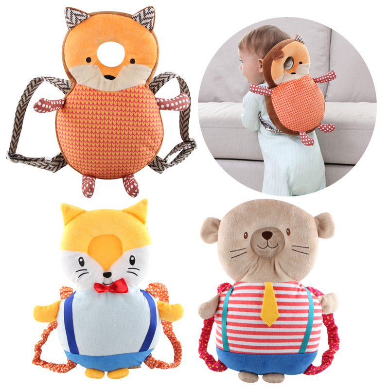 Hot Sale Baby Head Protection Pad Toddler Headrest Pillow Baby Neck Cute Wings Nursing Drop Resistance Cushion Baby Protect