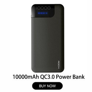 ROCK-Fast-Charge-Power-Bank-QC3-0-10000mAh-Portable-Slim-Quick-Charge-3-0-PowerBank-10000