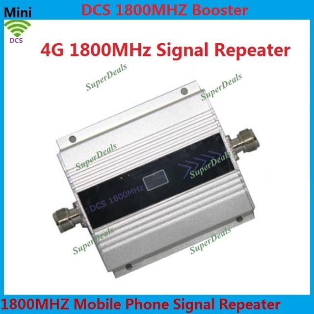 ЖК-Дисплей GSM Репитер 1800 МГц Booster Усилитель Сигнала Сотовой Усилитель 4 Г DCS 1800 Ретранслятор Мобильный Телефон усилитель Сигнала