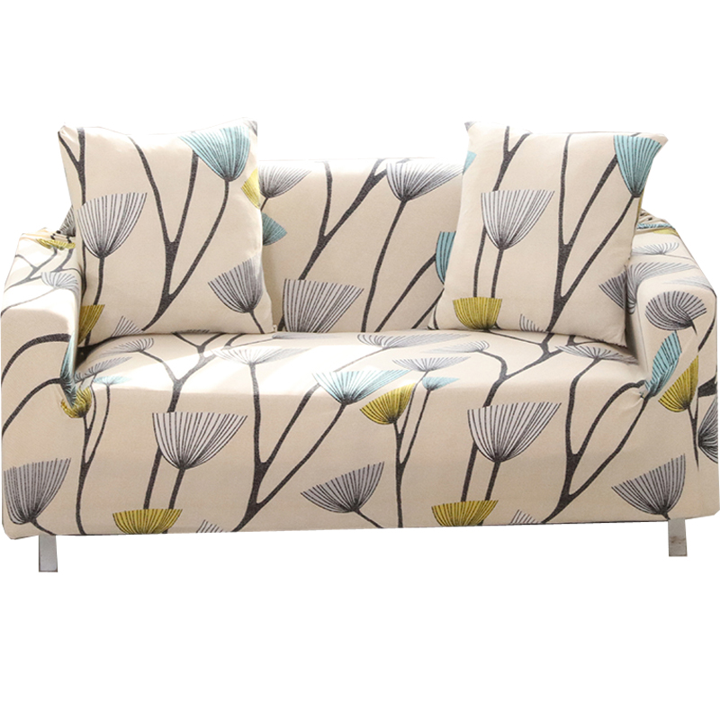Папа и мима принт стрейч диван крышку упругой диване крышка на двоих стул l диван в стиле случае