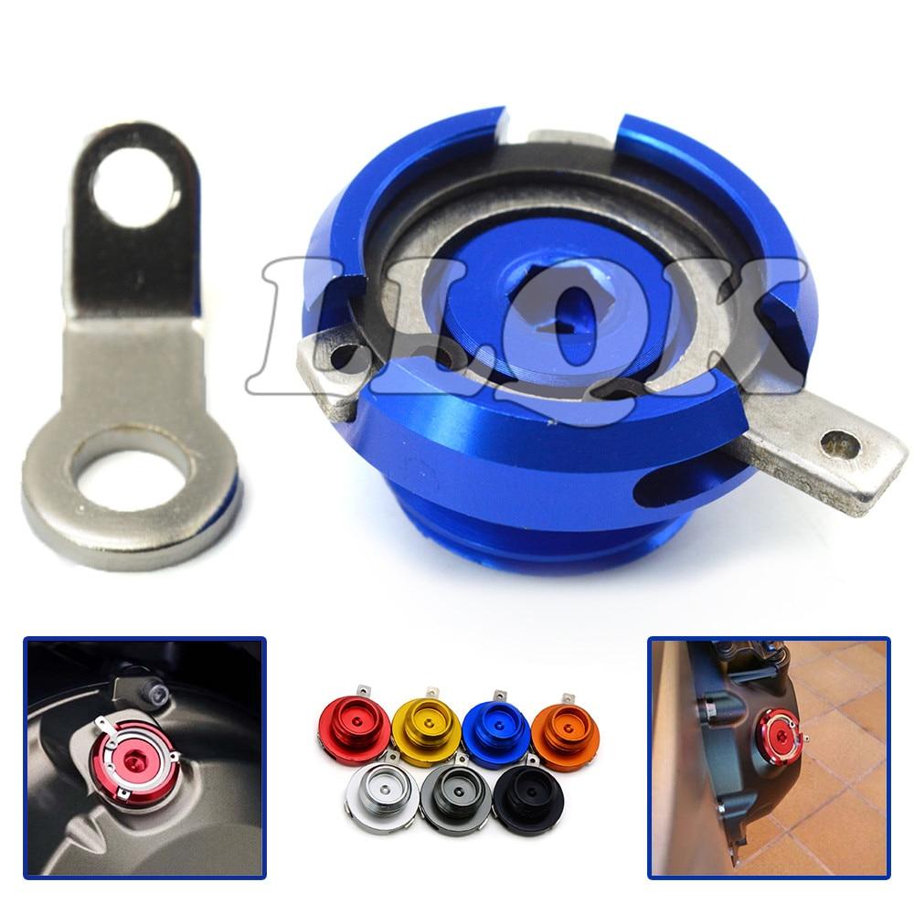 M20*2.5 motorcycle  oil cap cnc motorbike Filler Cover Screw for HONDA CB1000 CB1300 CB300F  CB500F CB300X CB500X YAMAHA MT03