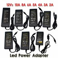 Nueva 12 V/24 V 2A/3A/4A/5 V/6A/8A/10A AC 100 V-240 V Adaptador Convertidor Transformador de Alimentación para 5050 3528 5630 Tira de Luz LED