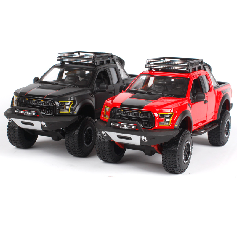 maisto 1 24 off road kings 2017 ford f 150 f150 raptor pickup diecast model car toy new in box. Black Bedroom Furniture Sets. Home Design Ideas