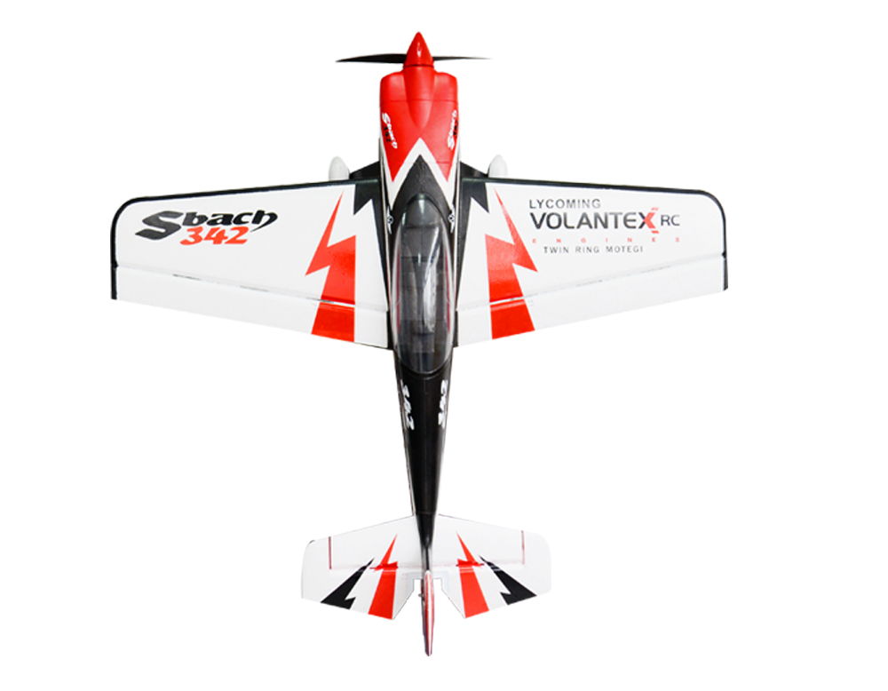 Volantex EPO Sbach 342 RC KIT Plane Model W/O Brushless Motor Servo ESC Battery volantex super decathlon rc rtf plane model w brushless motor servo esc battery