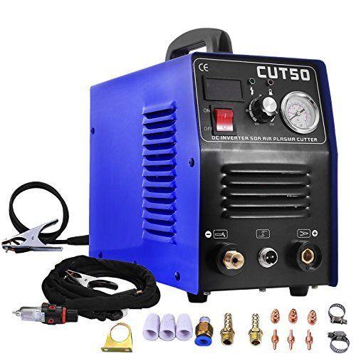 PLASMA CUTTER TOSENSE  50A 110V/220V HF start CUT50 Protable14mm+ PT31 torch Consumables
