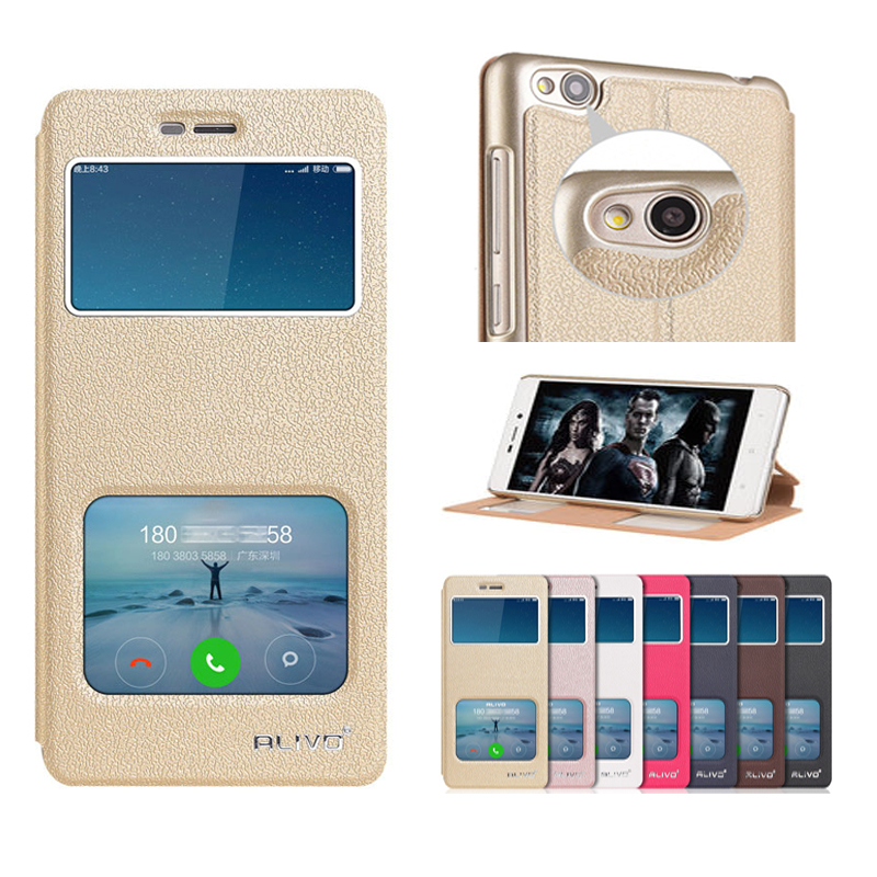 For Xiaomi Redmi 4a Pro Case PU Leather Flip Full Phone Case Back Cover For Xiaomi