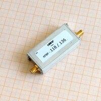 118 ~ 136 MHz Banda Aeronáutica Band Pass Filter  Interface de SMA