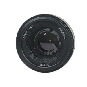 Image 3 - YONGNUO YN 50mm f/1.8 AF Lens YN50mm Aperture Auto Focus Large Aperture for Nikon DSLR Camera as AF S 50mm 1.8G Free lens bag