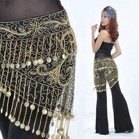 מכירות חמות של נשים שרשרת מותניים ריקודי בטן חגורת צעיף ירך חגורת תחפושת ריקודי בטן