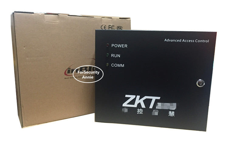 ZK Inbio260 Fingerprint and Card Reader Access Control Board With Power Supply Metal Box Support FR1200 ZK Access Control Panel