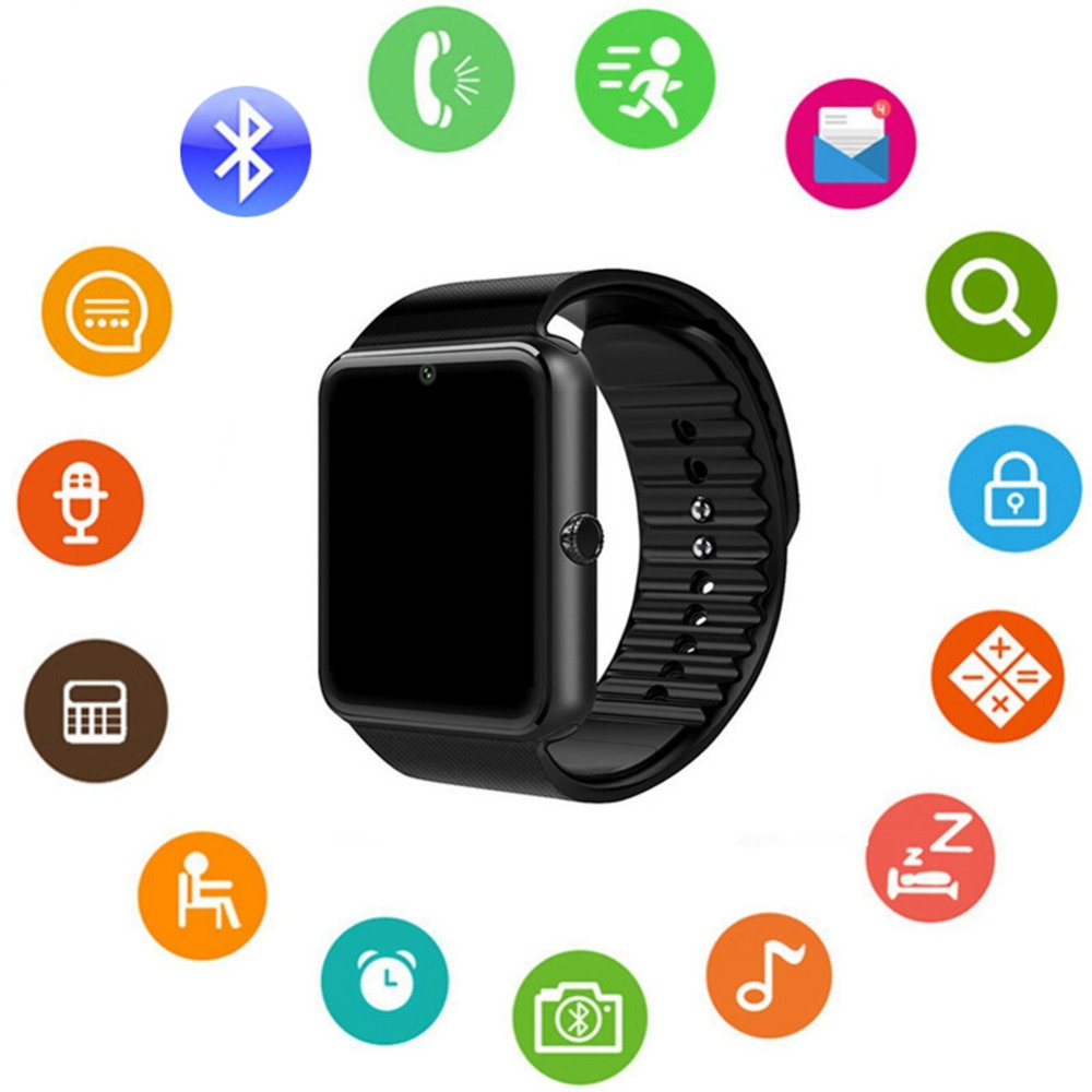 Smart Watches,Bluetooth Touch Screen Bluetooth Watch with Call/SIM Card Slot/Pedometer Analysis/Sleep Monitoring for Android