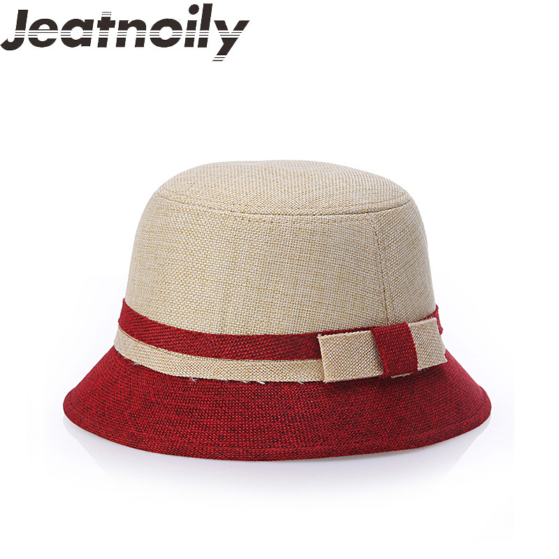 fc1ef260 Detail Feedback Questions about fedoras New Spring Summer Hat Female Cotton  Linen Hat Retro Cloche Hats Hot Selling Warm Bucket Hats For Women  Yachenlm006 ...