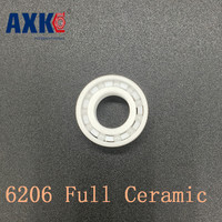 2017 New Real Rodamientos Axk 6206 Full Ceramic Bearing 1 Pc 30 62 16 Mm Zro2